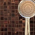 shower head tile detail