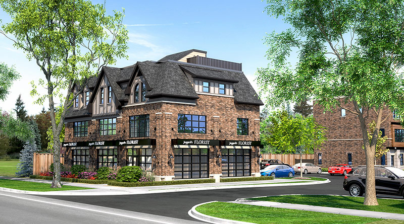 Ivy on Plains Wisteria and commercial units - rendering 11