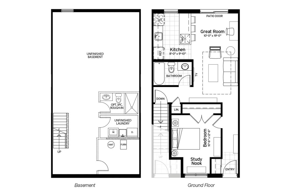 Honeysuckle Floor Plan