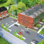 Locke Street Lofts aerial view