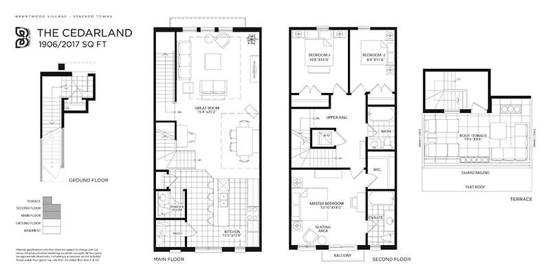 Cedarland Floorplan image