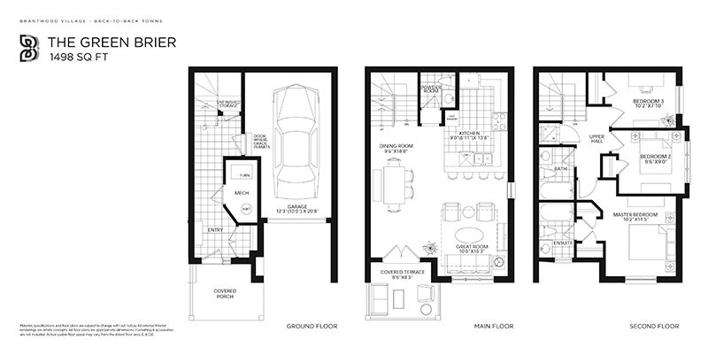 Green Brier Floorplan image