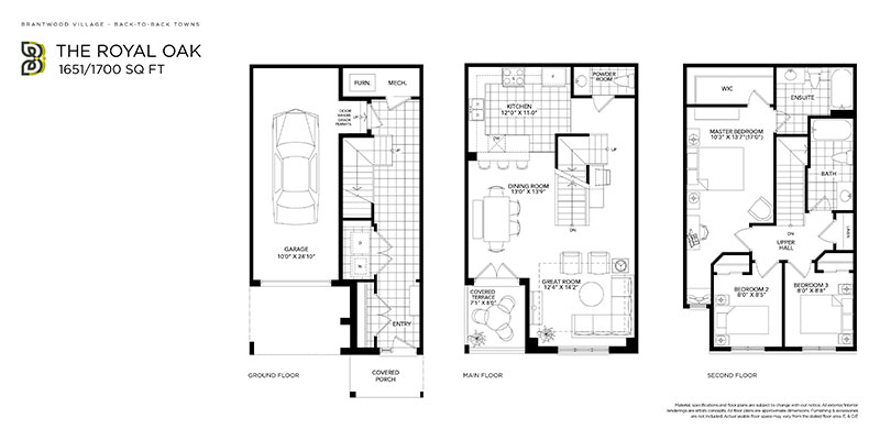 Royal Oak floor plan
