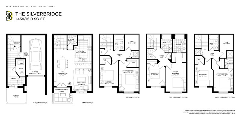 Silverbridge floor plan